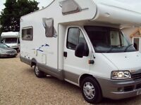 Wanted motor home,campervan possibly caravan, any age model mileage or con
