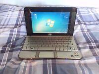 HP 2133 Mini-Note Laptop Netbook (VIA C7-M 1.2GHz 1GB RAM 120GB HDD Windows 7)