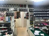 Mobile Phone Parts and Accessories warehouse lease for sale Great Opportunity