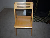 Ikea fold up chair