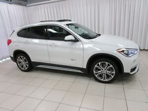 2018 BMW X1 28i x-DRIVE AWD w/ NAVIGATION, HEAD UP DISPLAY, BA