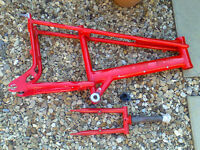 Raleigh Chopper mk3 frame ,forks