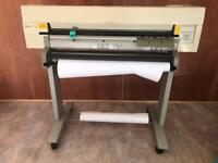 Hp design jet 350C A0 plotter printer