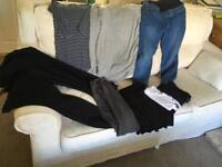 Bundle of maternity clothes size 12/14