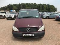 Mercedes vito 115 cdi top spec 150 bhp