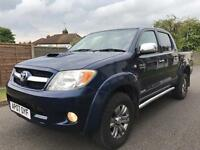 Toyota Hilux 3.0d invincible nav/Bluetooth/aircon grabbers