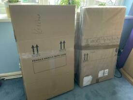 10x Moving boxes XL Double Walled 53cmx53cm