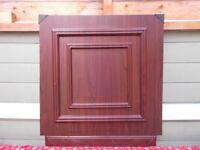 Rosewood / White Half Moulded Door Panel