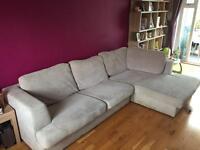 REDUCED!! Next left hand corner sofa stratus