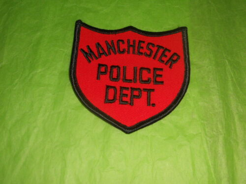 Manchester New Hampshire Police Patch - Vintage 1960
