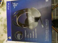 Wireless gaming headset PS4 / PC razer thresher ultimate