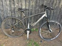 Mens carrera crossfire mountain bike