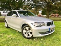 2008 BMW 1 SERIES 118D **112000 MILES ** NEW MOT ** FULL SERVICE HISTORY** NEW TIMING CHAIN