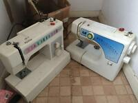 2 x electric sewing machines, working order, £40 for both, thanks for looking