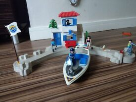 Playmobil harbour police set