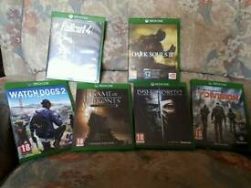 Xbox one games for sale sell as bundle or separately