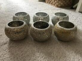 Brand new hand made candle holders