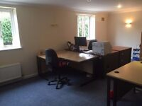 Desk space - £120 PCM bills included in a quiet rural setting