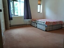Double big room full furnished a lot of storage with nice friendly couple no smoking drinking