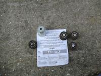 FORD Locking wheel nuts with key.
