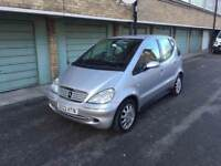 MERCEDES-BENZ A160 1.6 ELEGANCE, AUTOMATIC,85k 11 SERVICE STAMPS, CHEAP