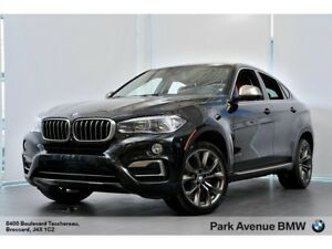 2015 BMW X6 xDrive35i / 0.9% / 20'' / CUIR ROUGE / LED /