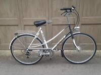 "Tour de France Gazelle Dutch bike 22"" frame in good condition"