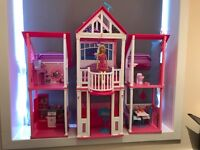 Barbie California House