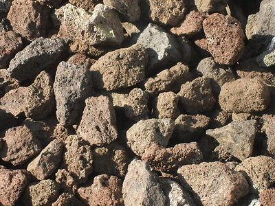 25 kg Grill Lava Steine 32-56 mm - Lavastein Lavasteine Aquarium Gasgrill