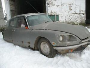 1971 Citroen DS still available for parts @ PICnSAVE Woodstock
