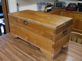 Real Solid Teak Indonesian Storage Chest (£140.00 ONO)