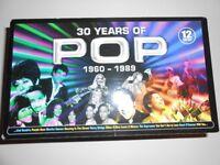 30 YEARS OF POP CD BOXSET - RARE