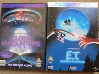 E.T. DVD BUNDLE – 2 ORIGINAL DVDs £1