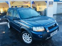 2006/06 Reg Land Rover Freelander Td4 Adventurer - Cairns Blue - GOOD SERVICE HISTORY - YEARS MOT