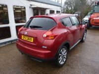 NISSAN JUKE - OFZ3619 - DIRECT FROM INS CO