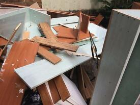 FREE wood and shelves