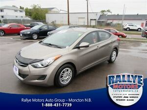 2013 Hyundai Elantra GL! EXT Warranty! Alloy! Heated! ONLY 42K!