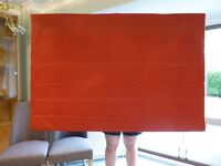 Red Lined Roman Blinds (3 available)