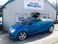 VAUXHALL TIGRA 1.4 EXCLUSIVE CONVERTIBLE STUNNING CAR ONLY 43K MILES £2195!!
