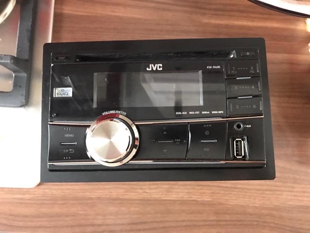JVC KWR400 stereo double din