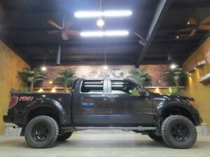 2012 Ford F-150 Black lifted FX-4 moon roof