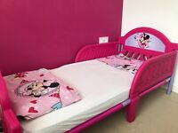 Beautiful Minnie Mouse cot bed