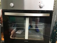 "Lamona ""LAM3208"" Stainless Steel Built In Integrated Conventional Electric Oven NEW"