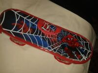 Spiderman junior skateboard with cover