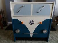 Choice of colour!! Campervan chest of drawers