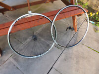 Ryde Flyer 700c (622x13) Front and Rear Wheels with quick release skewers