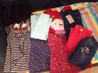 Bundle of lovely baby girl clothes/shoes/snowsuit etc