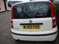 Fiat Panda Eco 2009. New MOT, Low tax (£30) and insurance group. Reliable cheap transport.