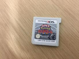 Nintendo 3Ds Super Pokemon Rumble loose cart