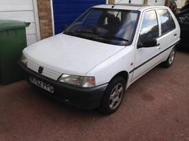 Peugeot 106 spare or repair